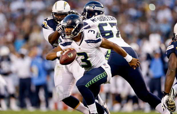 Seahawks thump Chargers to open preseason play