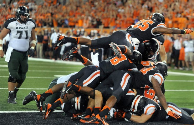 Hawaii Bowl Won By Oregon State Over Boise State.