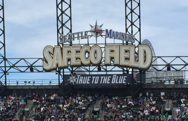 safeco Field true to the Blue
